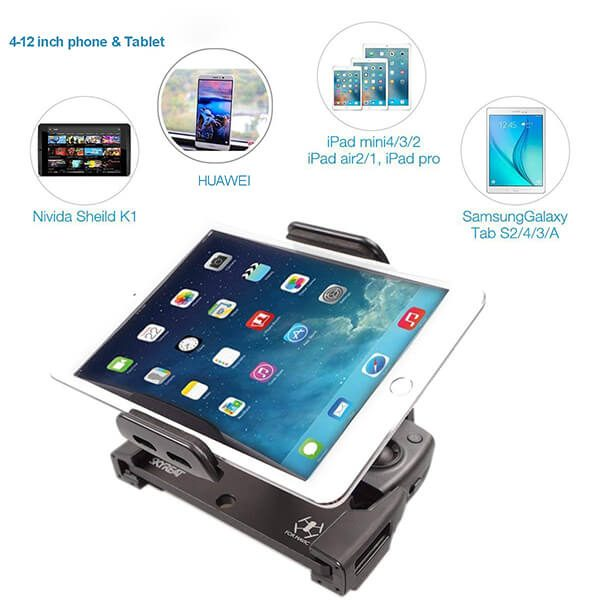 UPGRADE VERSION Aluminum-Alloy Folable Tablet Holder